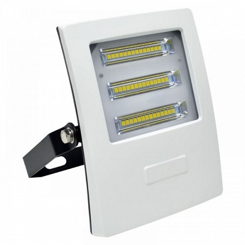 LED Floodlight White SLIM 20 W 230 Volt Natural White