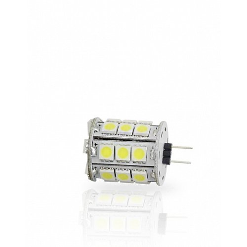 G4  With 27 LED 5050 10-30V DC Cool White