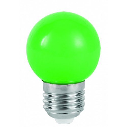 Mini Globe LED G45 1 Watt Green