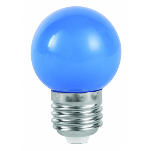 Mini Globe LED G45 1 Watt Blue