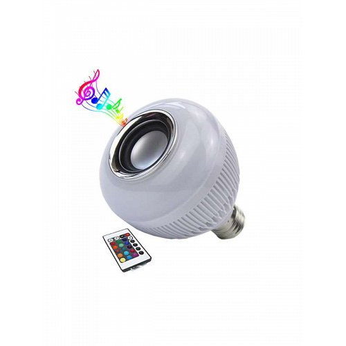 led e27 bluetooth with speaker