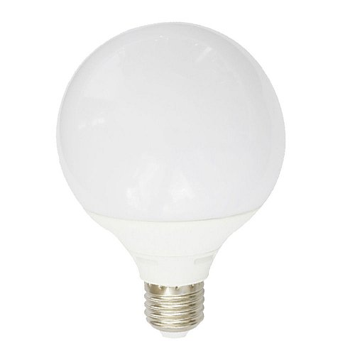 LED Bulb  E27 G125 18 Watt 230V Cool White