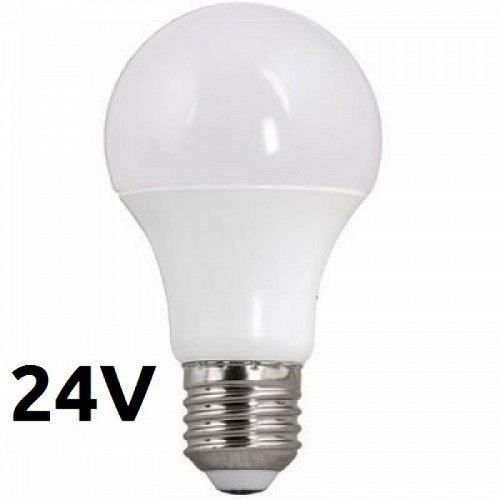 Led Bulb E27 6Watt 24V Natural White