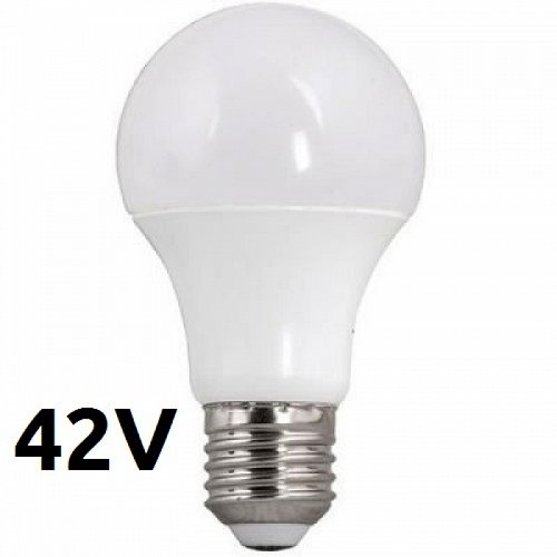 Led Bulb E27 6Watt 42V Warm White