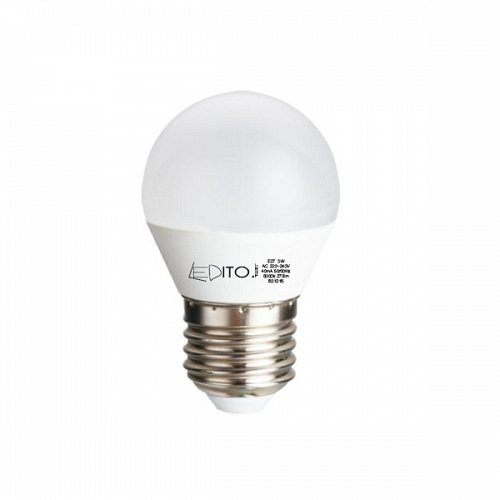 LED Bulb LEDITO  E14 5 Watt 230V Warm White