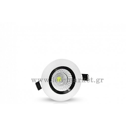 Led Cob Downlights  10 W Epistar Chip WW