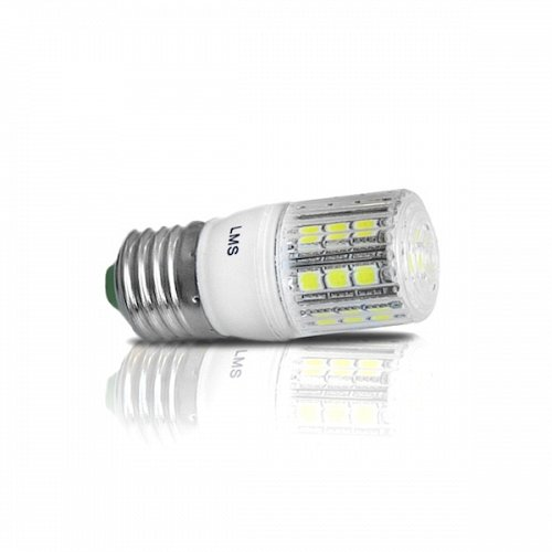 LED Corn  E27 24 SMD 5 W Warm White Dimmable