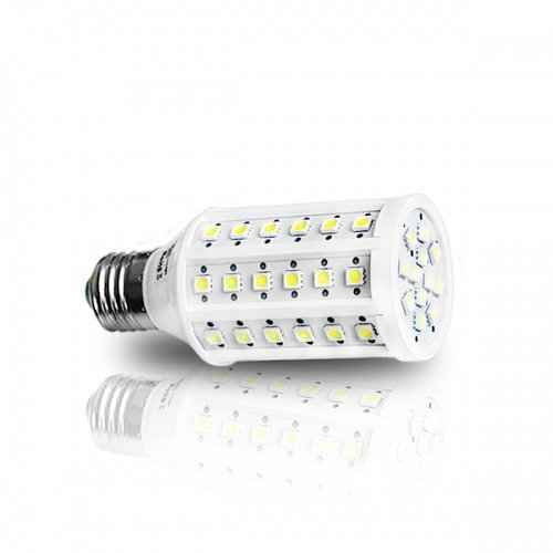 LED Corn  E27 60 SMD 9 W Warm White
