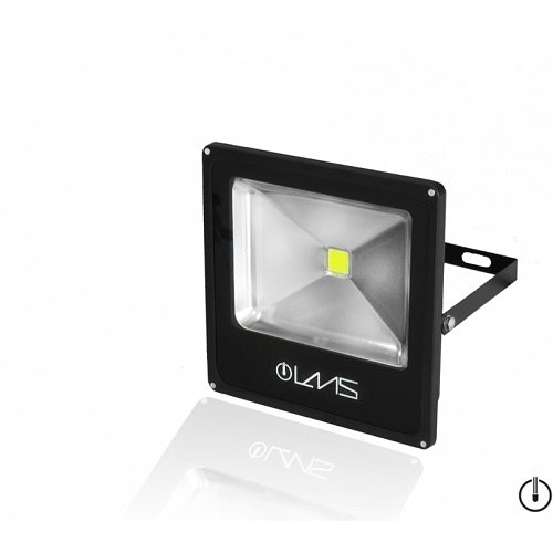 Led Floodlight  Slim BB 50 Watt Green