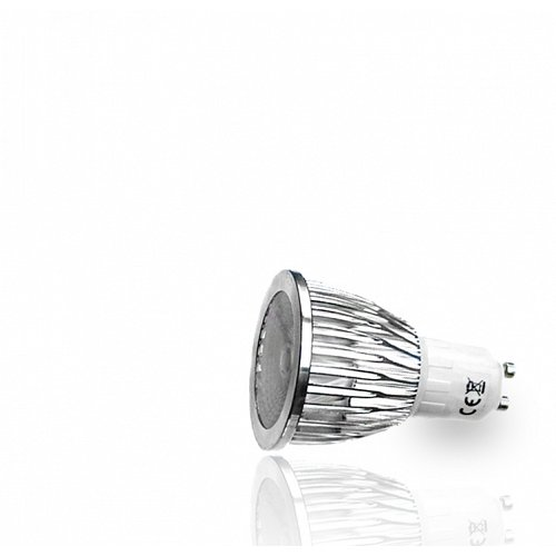 LED Spot  GU10 1 Cob LED 5 W High Power Warm White