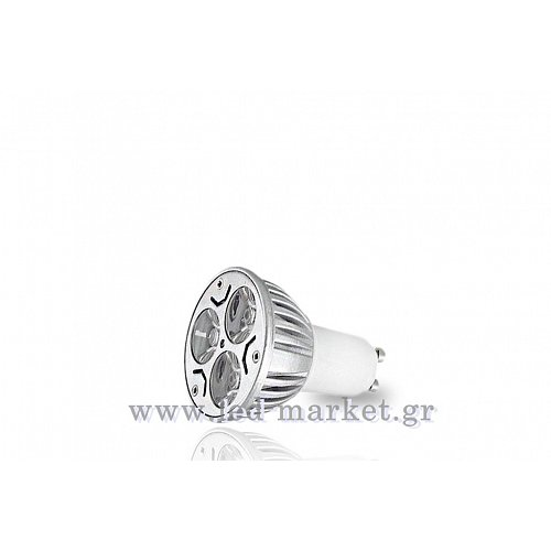 LED Spot GU10 3x1 W High Power Cool White