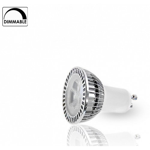 LED Spot  GU10 3x1 W High Power Cool White Dimmable