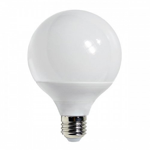 LED Bulb E27 G125 15 Watt 230V Warm White