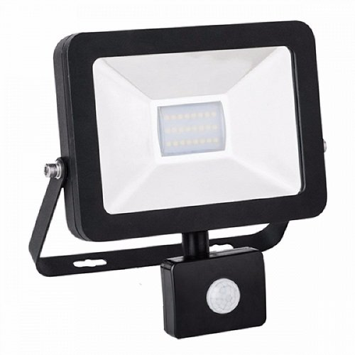 LED Floodlight SUPER SLIM 1W Cool White with Moving sensor