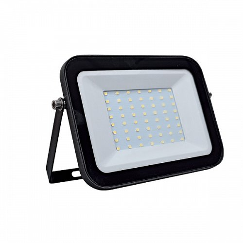 LED Floodlight Βlack 50 W 230 Volt Cool White